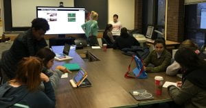Students in SPLED 418 participate in AAC lab